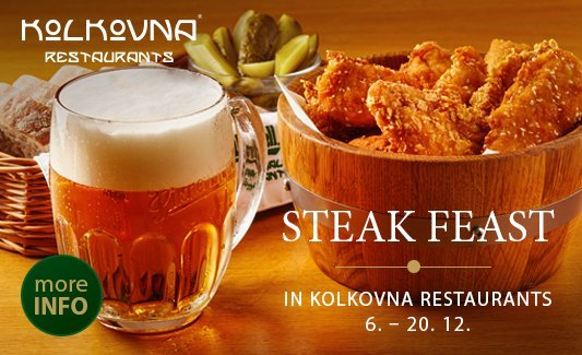 Schnitzel Fest at Kolkovna Restaurants